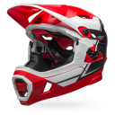 Kask BELL SUPER DH MIPS red white black roz. M