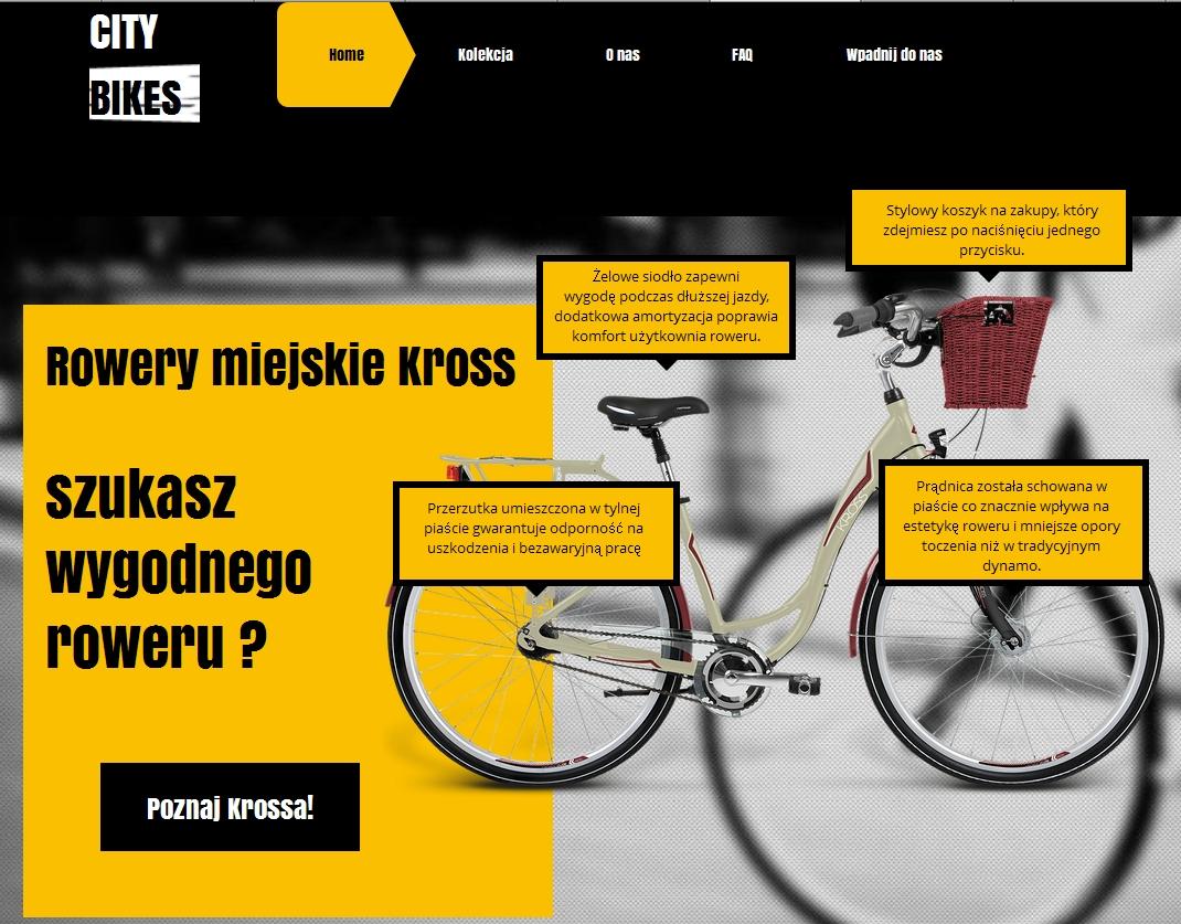 Polskie rowery miejskie Kross