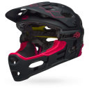 Kask BELL SUPER 3R MIPS matte black cherry roz. M